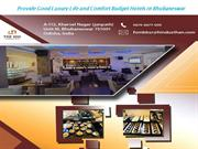 Provide Good Luxury Life and Comfort Budget Hotels in Bhubaneswar