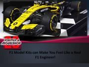 F1 Model Kits can Make You Feel Like a Real F1 Engineer!