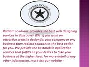 Best mobile application servicesVancouver WA