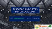 Best Coaching Classes for UPSC or IAS Exam