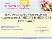 SEND ONLINE FLOWERS DELIVERY ACROSS INDIA SAME DAY & MIDNIGHT