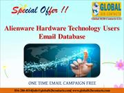 Alienware Hardware Technology Users Email Database