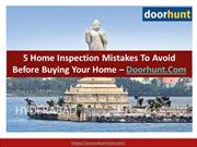5 Home Inspection Mistakes to Avoid Before Buying Your Home – Doorhunt