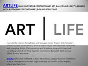 See Our Artist With Original Art at Artlife