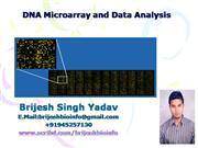 DNA MICRO ARRAY BASICS
