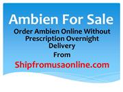 Order Ambien Online without Prescription Overnight Delivery