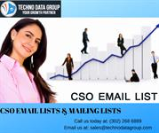 CSO Email Lists & Mailing Lists in USA