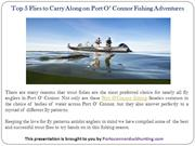 Top 5 Flies to Carry Along on Port O' Connor Fishing Adventures