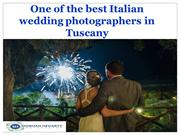 One of the best Italian wedding photographers in Tuscany