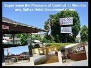 Experience the Pleasure of Comfort at Vino Inn and Suites Hotel Accomm