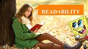 How to improve on Readability
