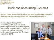 BAS - Business Accounting Systems