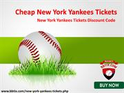 Discount Yankees Tickets | New York Yankees Tickets Discount Coupon