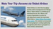 Make Your Trip Awesome via United Airlines 28_05_19