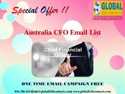 What are the Top Benefits of Availing CFO Email List |authorSTREAM