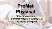 Relieve Pain with Physical Therapy - ProMet
