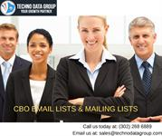 CBO Email Lists & Mailing Lists | Chief Business Officer Email Lists