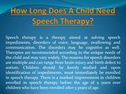 How Long Does A Child Need Speech Therapy
