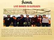 Live Bands in Gurgaon | Best | Top 10 Live Bands in Gurgaon