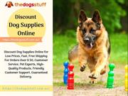 Discount Dog Supplies Online