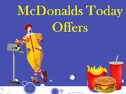 McDonalds Today Offers