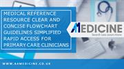 A4Medicine - To The Point Medical Reference in UK