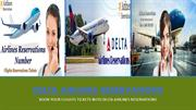 Get Online Flights Reservations Tickets with Delta Airlines Reservatio
