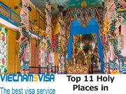 Top 11 Holy Places in Vietnam