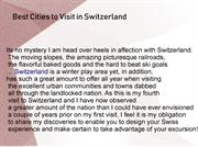 best cities to visit in switzerland