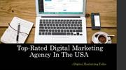 Top Rated Digital Marketing Agency In USA