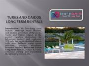 turks and caicos long term rentals