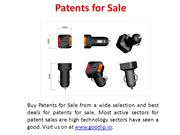 Patents for Sale