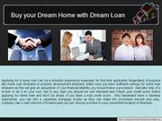 Buy your Dream Home with Dream Loan