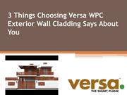 Choosing WPC Exterior Wall Cladding for Your Building