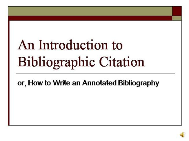 Annotated bibliography mla style | Massive Action