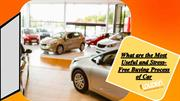 What are the Most Useful and Stress-Free Buying Process of Car