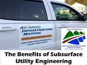 The Benefits of Subsurface Utility Engineering