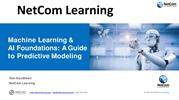 Machine Learning & AI Foundations - A Guide to Predictive Modeling