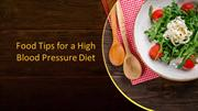 Food Tips for a High Blood Pressure Diet