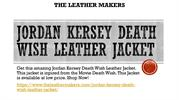 JORDAN KERSEY DEATH WISH LEATHER JACKET | The Leather Makers
