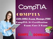 CompTIA 220-1002 Exam Questions - Free 3 Months Updates