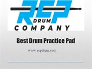 Get Best Drum Practice Pad at RCP Drum Company