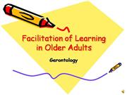 Facilitation of Learning