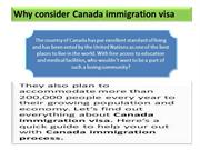 Canada immigration consultants, canada immigration requirements