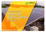 Solar Rooftop Panel Installation in Delhi