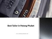 Best Tailor in Patong Phuket