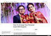 How To Arrange Your Personal Event With Experts