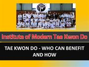 Useful Training Tips For Tae Kwon Do Classes