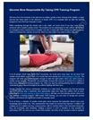Become More Responsible By Taking CPR Training Program