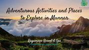 Places to Explore in Munnar